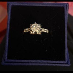 BN Silver CZ Ring